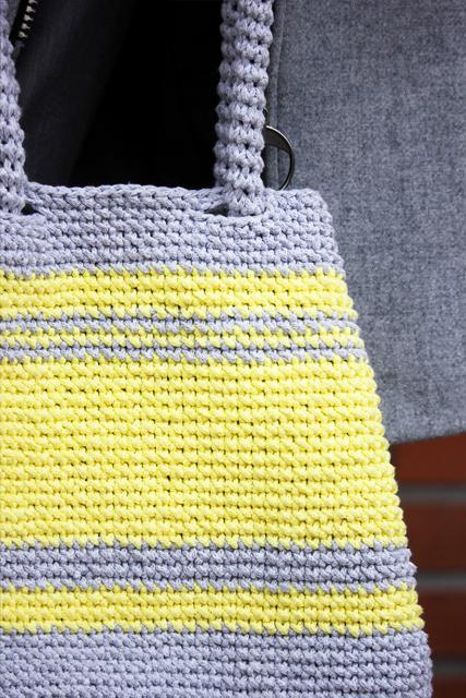 siwa torba z żółtymi pasami3