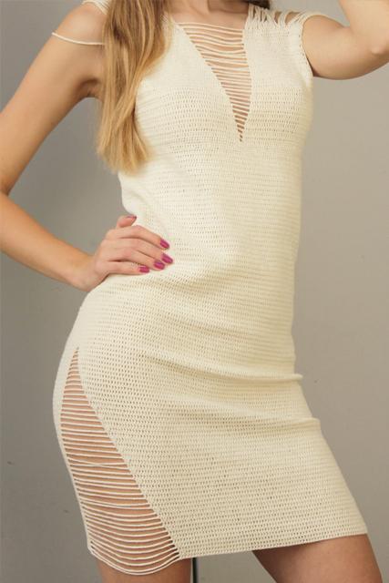 sukienka szydełkowa z rozcięciami4