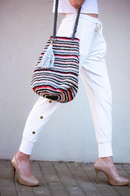 torba worek w paski z przywieszką2