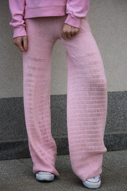 spodnie róż1
